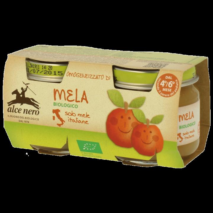Omogeneizzato di mela biologico