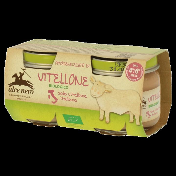 Omogeneizzato di vitellone biologico