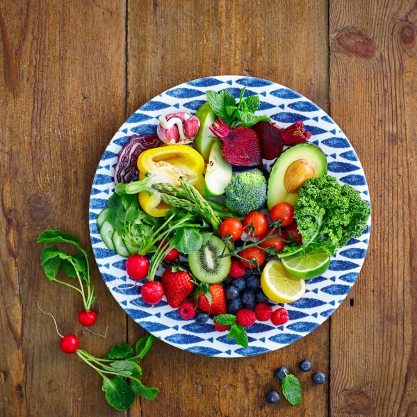 Alimentazione vegetariana nella donna